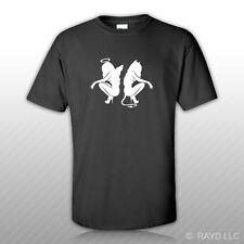 Kneeling Angel Devil Sexy Girls T-Shirt Tee Shirt S M L XL 2XL 3XL Cotton