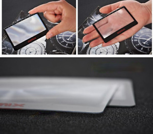5PCS PVC Fresnel Lens Credit Card Magnifier with Ruler Reading Magnifying Glass