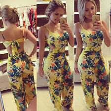 NEW Women Clubwear Pants Summer Playsuit Bodycon Party Jumpsuit &Romper Trousers