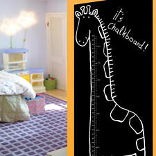 Wallies Wall Play Chalkboard Giraffe Growth Chart - Peel & Stick Decal + Chalk