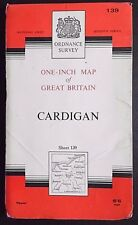 Ordnance Survey Paper Map, of Cardigan, 1965 Edition No 139, Seventh Series