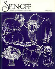 Spin-off magazine 1982: coverlets; angora; dyes; mohair, crazy gloves, blanket +