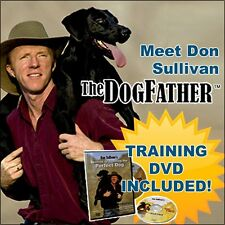 New Don Sullivan Perfect Dog Command Collar Large and DVD pet supplys training