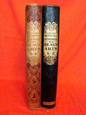 """encyclopédie des """"Beaux-Arts"""" en 2 volumes ((édition de 1925)"""
