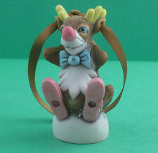 Harmony Kingdom-Rudolph Reindeer-Christmas Ornament-Timed Edition-New In Box