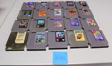 Lot of 20 Original Nintendo Nes Games Ninja Gaiden 3, Mega Man 1, 2, 4, 5, 6