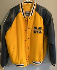 Michigan Wolverines Steve and Barry's Ncaa Varsity Jacket Size L New without Tag