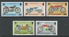 Timbres du Royaume-Uni sur motos