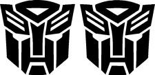 Transformers Autobot decal vinyl sticker (quantity 2)