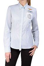 Gestreifte Damenblusen, - tops & -shirts mit Button Down-Kragen für die Freizeit