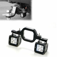 2 x 16W LED Pods w/ Backup Reverse Tow Hitch Brackets For Offroad 4x4 Truck SUV