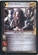 Lord Of The Rings CCG TCG Expanded Middle Earth Card 14R10 Furious Hillman