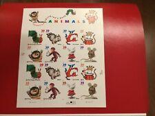 US SCOTT 3987-94 PANE OF 16 Animals from Favorite Children's Books