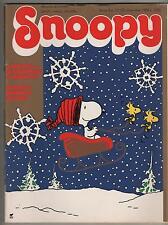 SNOOPY mensile N.12 Rizzoli 1988 peanuts calvin hobbes sansone leo verdura
