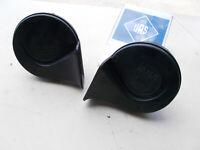 BMW E24 635CSI Fiamm Low High horn Set 61331371914 61331376194 1371914 E24505
