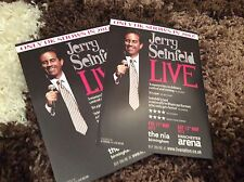 JERRY SEINFIELD- UK TOUR  2012- FLYERS X 2