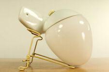 Lindner Eck Leuchte Modell 6026 Wilhelm Wagenfeld Lampe Porzellan Sockel