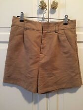 Women's Ladakh Faux Suede Brown Shorts