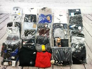 Wholesale Lot of 34 Men's Assorted Name Brand Clothing Items in Large -BBL1365