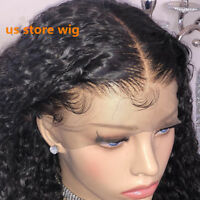 Best Pre-Plucked Brazilian Human Hair Wigs Curly Lace Front Wigs With Baby Hair