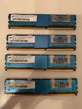 HP 8GB 4x2GB 2Rx4 PC2-5300F DDR2 667MHz CL5 ECC Server Memory RAM