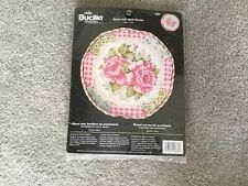 Bucilla Needlepoint Kit 4885 ROSES WITH QUILT BORDER by Suzanne Nicholl 2004