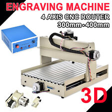 New! Mach3 4axis 3040 400W CNC ROUTER ENGRAVER MILLING/ ENGRAVING MACHINE