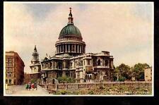 vintage Dixon St.Paul's Cathedral London Uk photgravure postcard