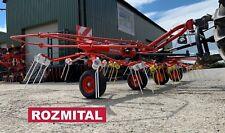 More details for rozmital oz-524 hay grass fodder tedder 5.2m 4 rotor £4995 + vat