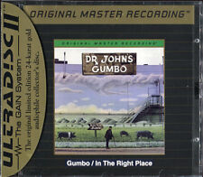 Dr. John - Gumbo/In the Right Place MFSL (MOFI) Rare Pre-Owned 24K Gold OOP CD