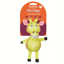Brand New Rosewood Soft Tough Dog Toy Made with Strong Materials Giraffe 39032