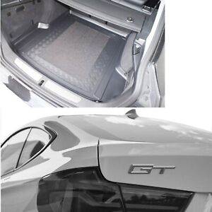 BMW F34 3 Series GT LDPE boot liner or rubber dog load mat - bumper protector