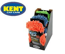 Kent 2 In 1 Car Cleaning Microfibre Noodle Wash Pads *Pack of 3*