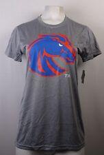 Boise State University Broncos NCAA Women's Short Sleeve Gray T-Shirt