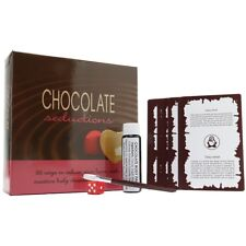 NEW Chocolate Seductions Game - 36 Cards & 1oz Of Brush On Edible Body-chocolate