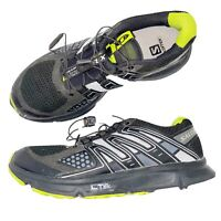 Salomon Black XR Mission Trail Running Shoes Mens Size 7.5