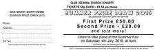 5000 Prize Draw & Raffle Tickets - Quick Turnaround  - 500 books of 10