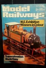 MODEL RAILWAYS - SUPERELEVATION made easy - April 1979
