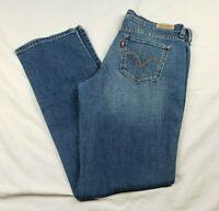 Levi's 505 Red Tab Women's Size 6 Straight Leg Jeans Stretch Medium Wash