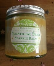 Solsticial Star Sparkle Balm - Mid-Winter Body Shimmer Gold Frankincense Myrrh