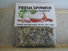 Fresh Spinach Dip Mix, makes dips, spreads, cheese balls & salad dressings