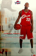Lebron James Rookie poster and puzzle 2003 starline