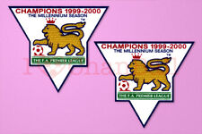 England Premier League Champion 99-00 Sleeve Gold Patch / Badge ManUnited Jersey