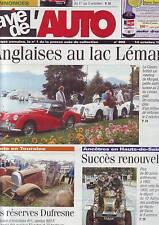 La vie de l´auto numero 908 14 octobre 1999/dufresne -ancetres - anglaises