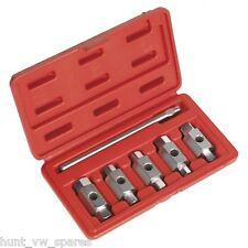 Sealey AK659 Set Chiavi di scarico doppia estremità 6pc