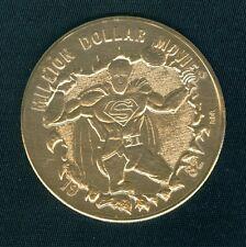SUPERMAN MILLION DOLLAR MOVIES Mardi Gras Doubloon Token Coin 1982