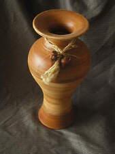 JARRON de barro, tamaño l, 50 cms. de alto, colores marrones