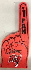 Tampa Bay Buccaneers Foam Finger #1 Fan - 18 in! Great for Game Day Party!