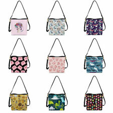 Cartoon Animals Bucket Handbag Hobo Shoulder Bags Tote Soft Top Handle for Women
