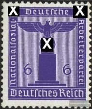 alemán Imperio d159 nuevo con goma original 1942 sello de franqueo oficial